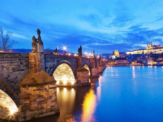 Praag - Karelsbrug