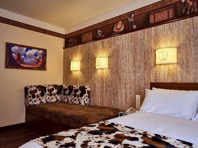 Disneyland Paris - Disney's Hotel Cheyenne - 4-persoonskamer