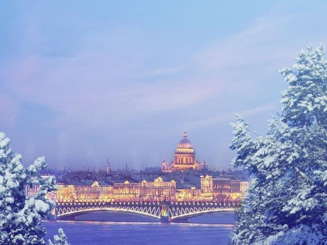 St. Petersburg - uitzicht op de stad