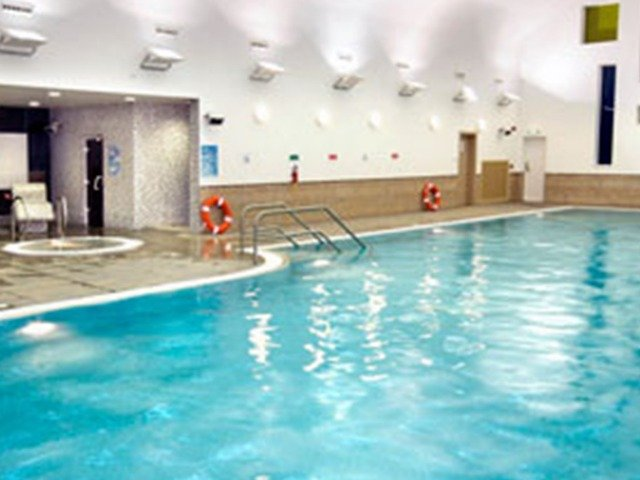 Schotland - Edinburgh - Hilton Hotel Edinburgh Grosvenor **** - zwembad