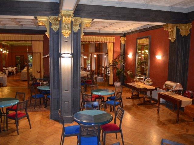 Montecatini Terme - Hotel Nizza et Suisse **** - restaurant