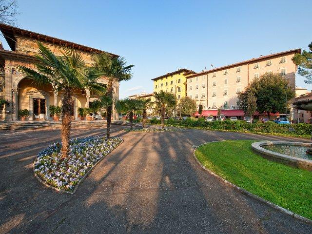 Montecatini Terme - Hotel Nizza et Suisse **** - aanzicht