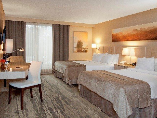 Jasper - Hotel Sawridge Inn & Conference Centre **** - 2/4-persoonskamer