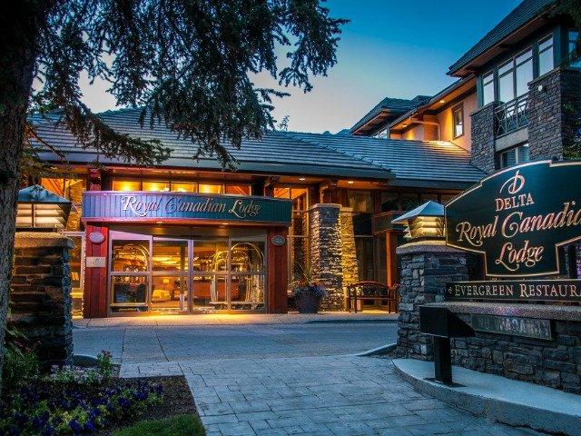 Banff - Delta Banff Royal Canadian Lodge ****  - aanzicht