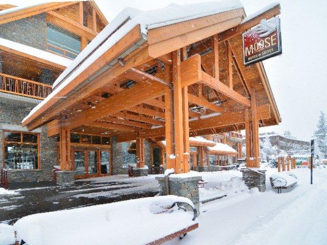 Banff - Moose Hotel & Suites **** - aanzicht
