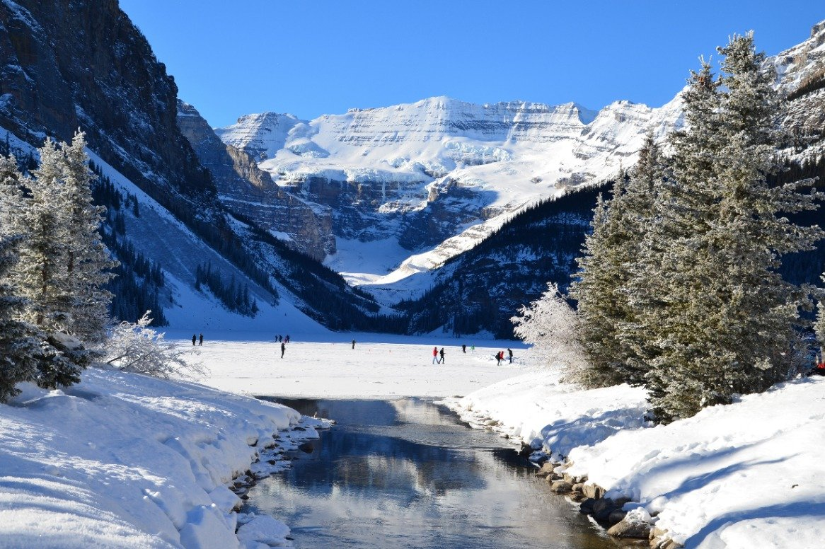 Skisafari Jasper, Lake Louise&Banff incl. Volkswagen Golf of ver