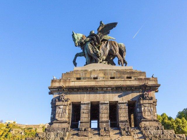 Koblenz_Kaiser Wilhelm standbeeld