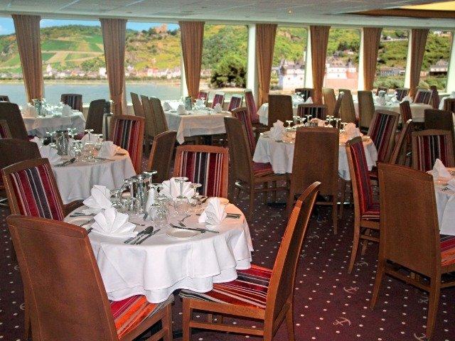Schip MS Verdi **** Deluxe - restaurant
