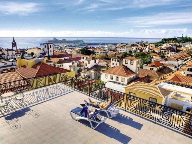 Funchal - Hotel Orquidea *** - uitzicht