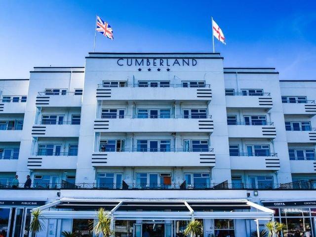 Bournemouth - Hotel Cumberland *** - aanzicht