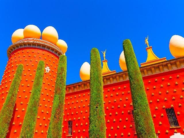 Spanje - Costa Brava - Figueres - Salvador Dalì Museum