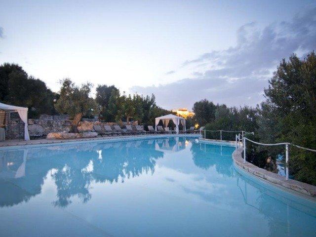 Fasano - Park Hotel Sant'Elia *** - zwembad