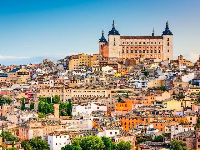 Spanje - Toledo - stadsaanzicht
