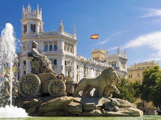 Spanje - Madrid - Koninklijk Paleis