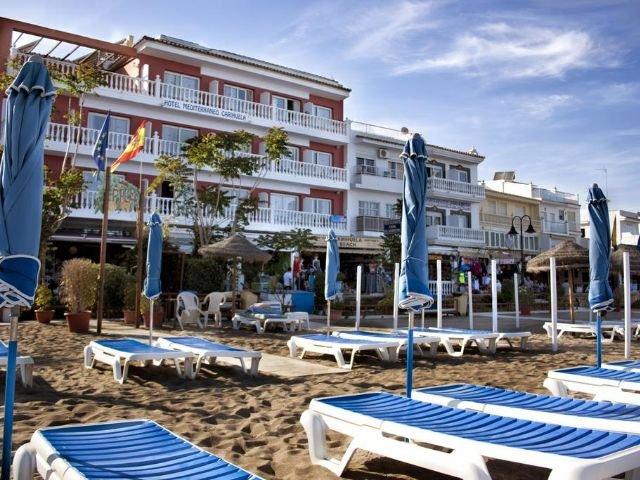 La Carihuela Beach - Hotel Mediterráneo Carihuela *** - aanzicht