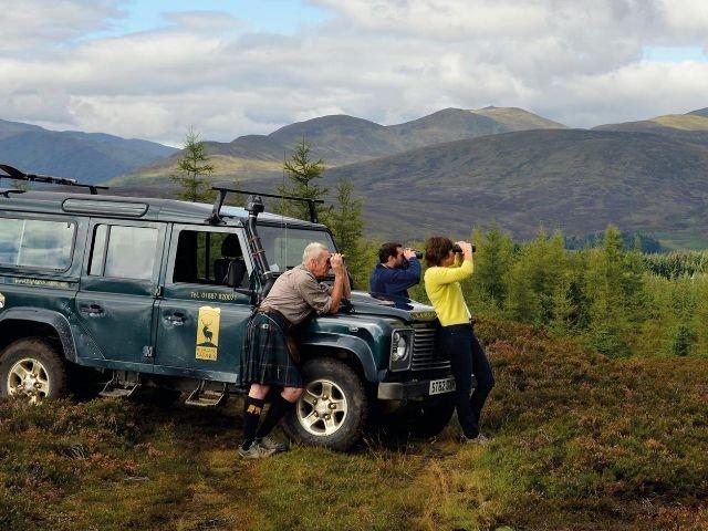Groot Brittanië - Schotland - Wildlife Safari