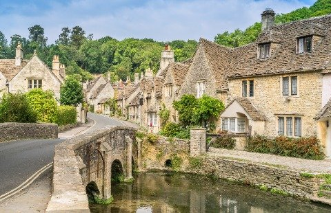 Engeland - Cotswolds - Catsle Combe