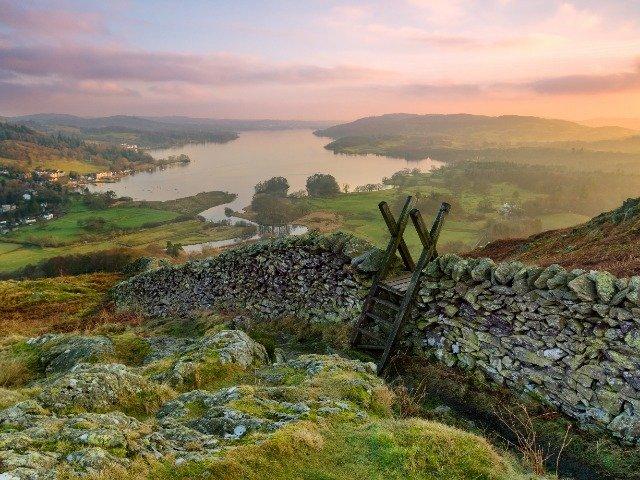 Groot Brittanië - Noord - Engeland - Lake District  - Lake Windermere