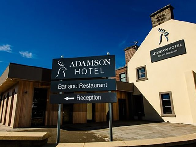 Dunfirmline - Hotel The Adamson *** - aanzicht