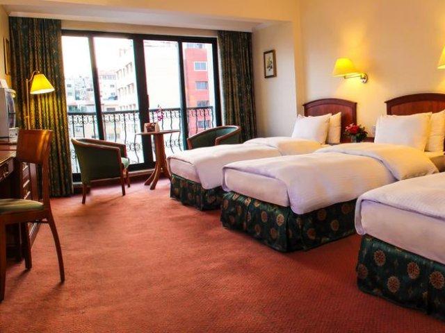 Jordanië - Amman- Hotel Grand Palace - 2/4-persoonskamer
