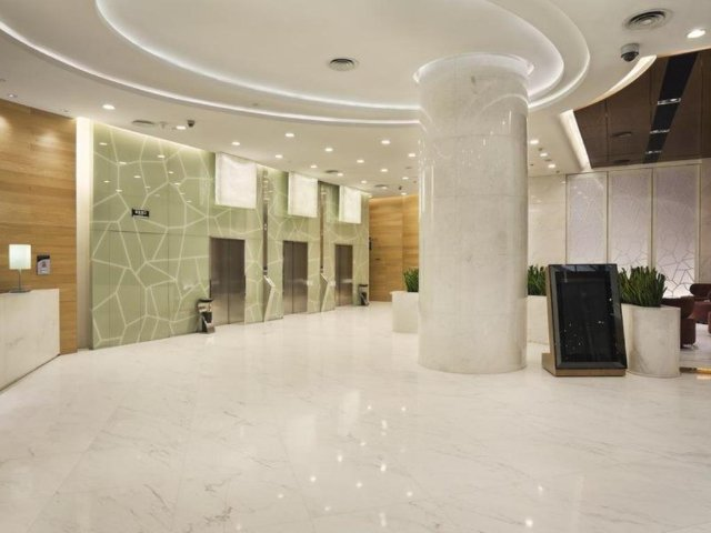 China - Qingyang Qu - Holiday Inn Express Chengdu Gulou - lobby