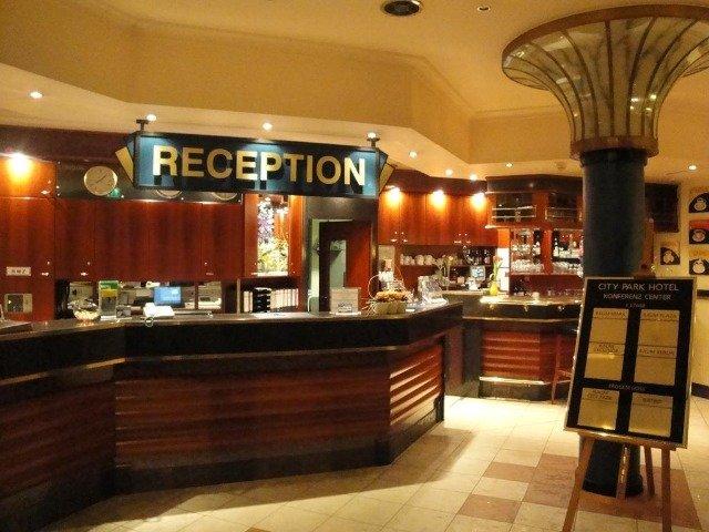 Frankfurt (Oder) - Hotel City Park *** - receptie