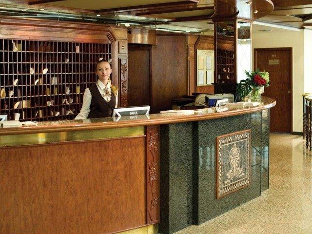 Kiev - Hotel Rus*** - receptie