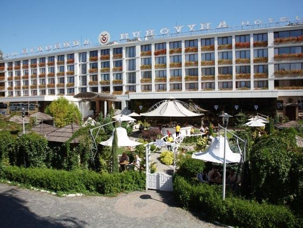 Chernivtsi - Hotel Bukovyna **** - hotelaanzicht