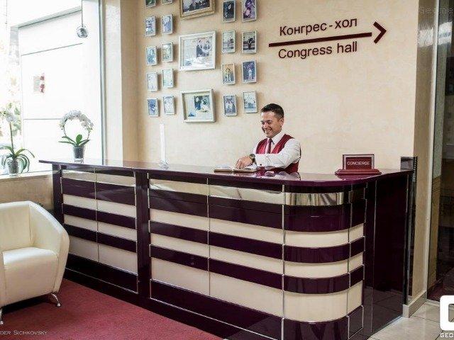 Chernivtsi - Hotel Bukovyna **** - receptie