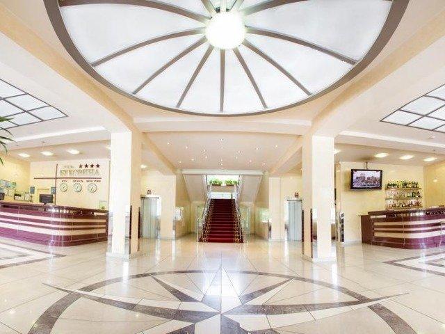 Chernivtsi - Hotel Bukovyna **** - lobby