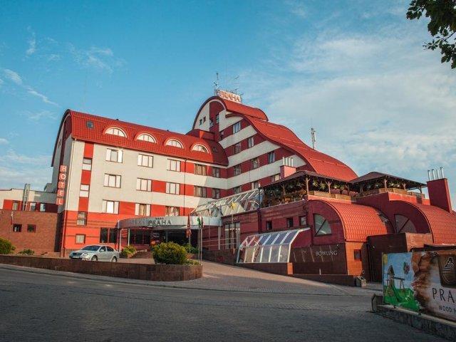 Uzhgorod - Hotel Praha **** - hotelaanzicht