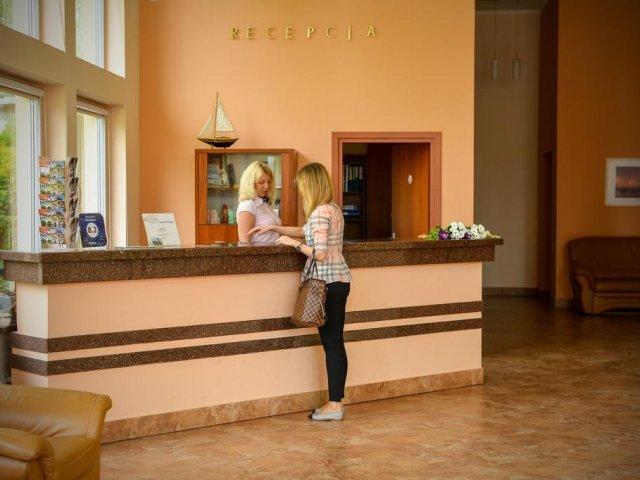 Gyzicko - Hotel Mazury *** - receptie