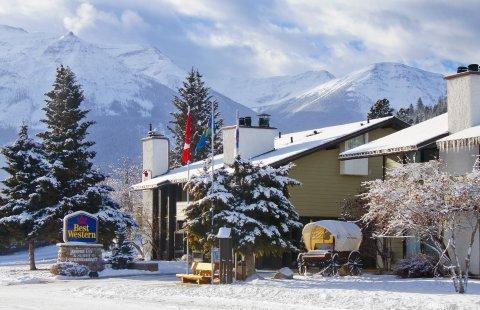 Jasper - Best Western Jasper Inn & Suites ***+ - aanzicht