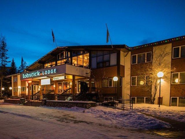 Jasper - hotel Lobstick Lodge *** - aanzicht