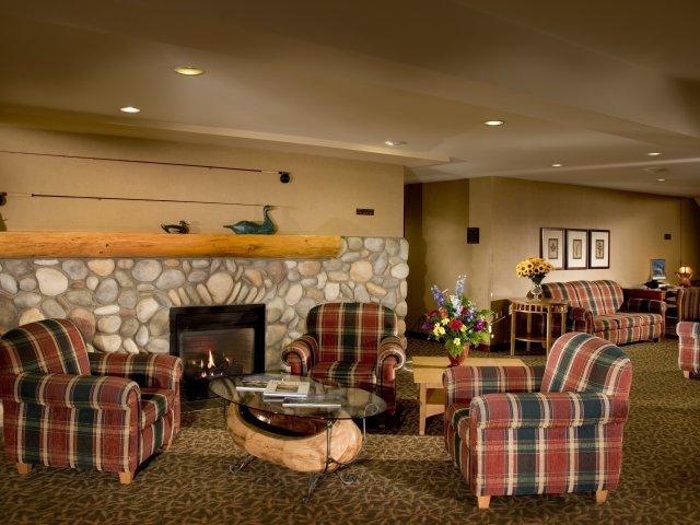 Jasper - hotel Lobstick Lodge *** - lounge