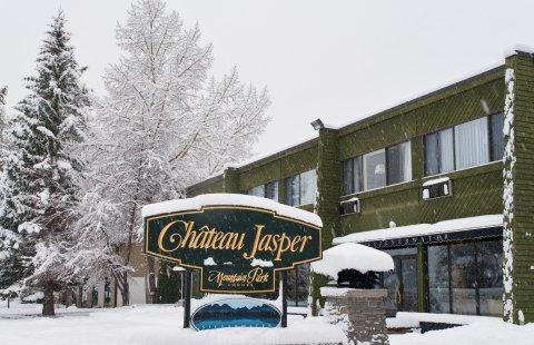 Jasper Hotel Chateau Jasper aanzicht