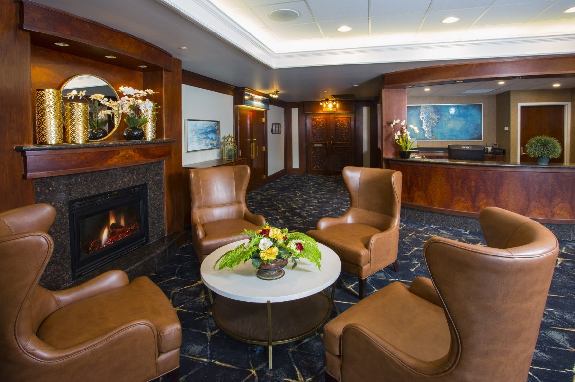 Jasper Hotel Chateau Jasper lobby