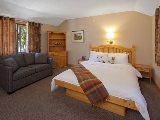 Jasper - Chalet Bear Hill Lodge *** - slaapkamer