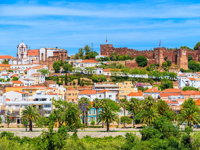 Silves straatbeeld