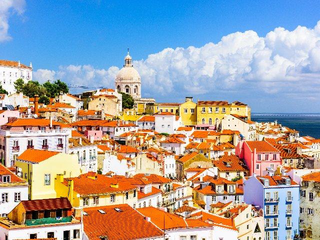 Lissabon, skyline