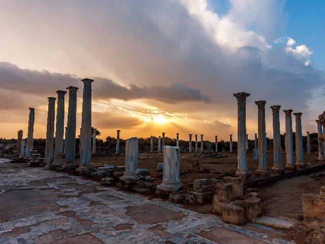 Cyprus - Salamis - opgravingsterrein