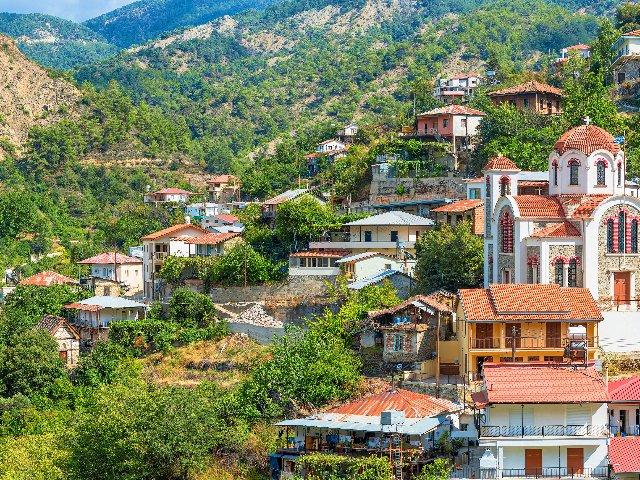 Cyprus - Nicosia - stadsaanzicht