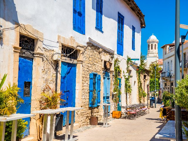 Cyprus - straat in Limassol