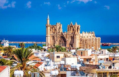 Cyprus - Famagusta - Lala Mustapha Moskee