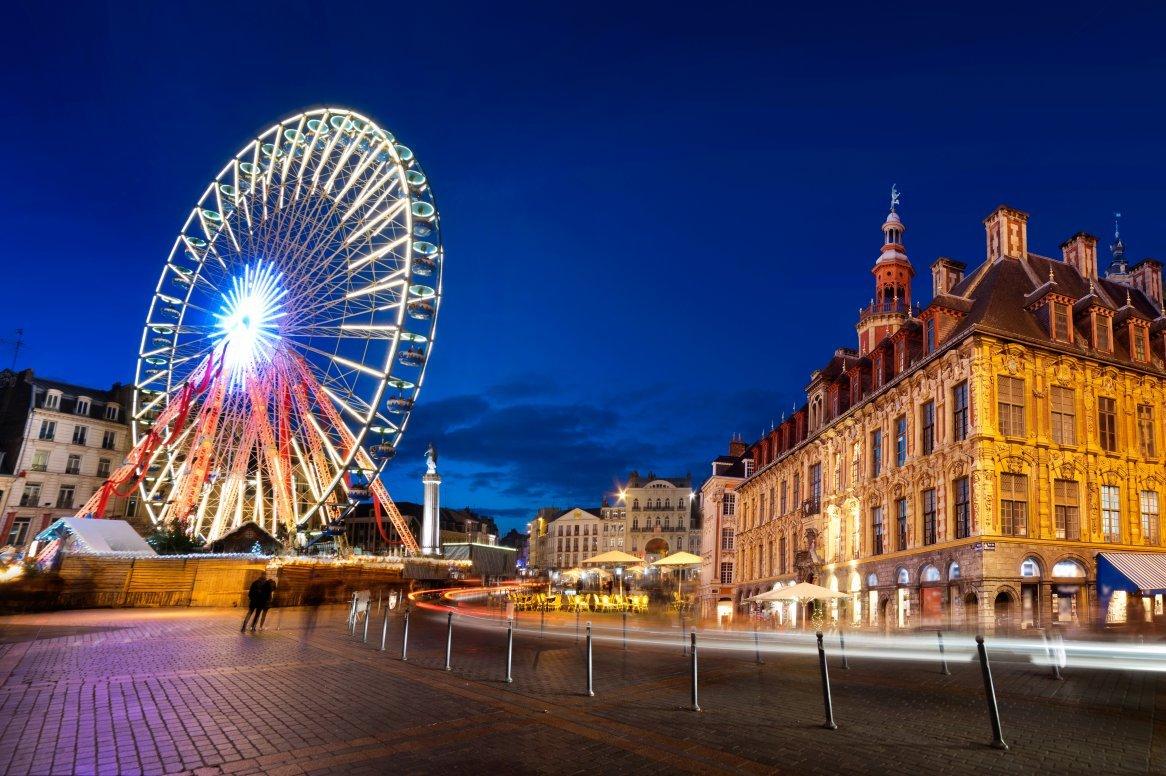 Kerstmarkten Lille en Brugge