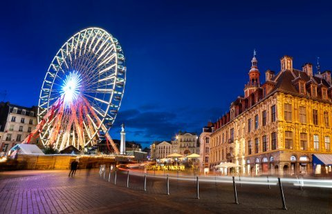 Lille - Kersmarkt centrum Lille