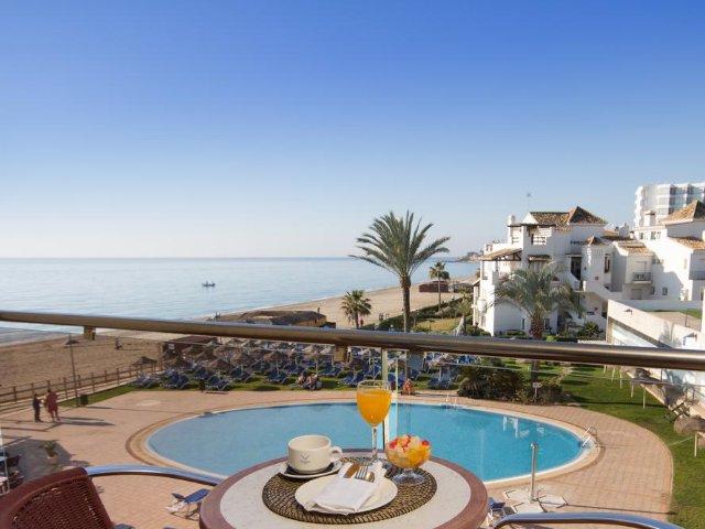 Spanje - Costa del Sol - Cala de Mijas - VIK Gran Hotel - voorbeeld uitzicht vanuit kamer