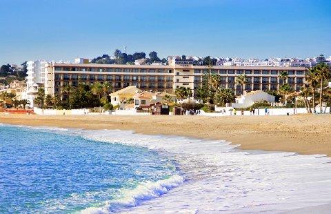 Spanje - Costa del Sol - Cala de Mijas - VIK Gran Hotel - strand