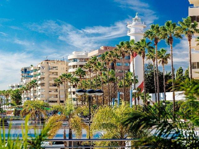 Spanje - Costa del Sol - Marbella - Straatbeeld