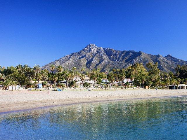 Spanje - Costa del Sol - Marbella - strand